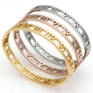 Jewelry - 🇱🇷RESTOCKED✨Titanium Steel RomanNumeral Bracelet